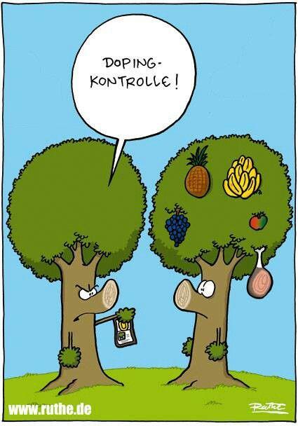 Ralph Ruthe very #funny #cartoon Doping