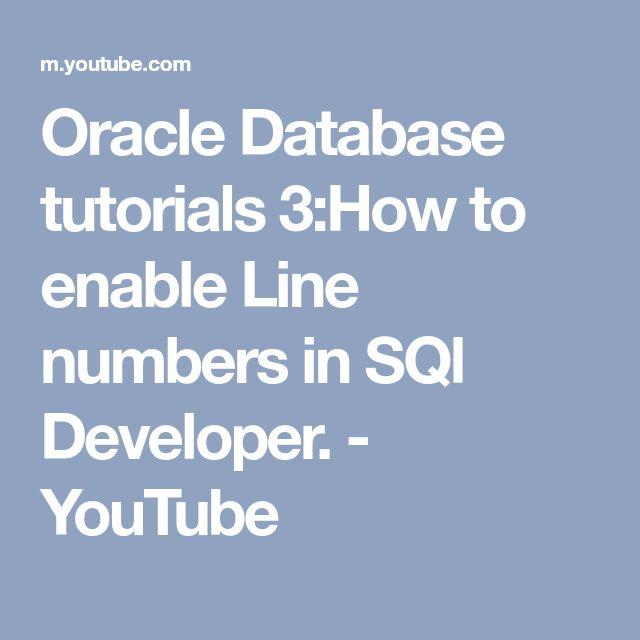 Best 25+ Sql tutorial ideas on Pinterest Sql server, Sql - oracle pl sql developer resume sample
