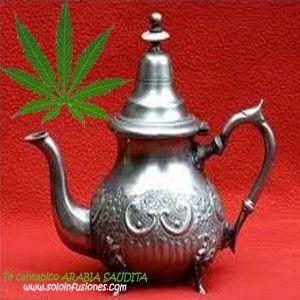 Té cannabico Arabia Saudita, una de nuestras mezclas propias y exclusivas.