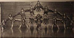 Guilderland New York High School 1982 Cheerleaders (texasretrocheer2) Tags: new york school white newyork socks vintage high shoes cheerleaders retro highschool 80s 70s cheerleader 1970s knee saddle kneesocks saddleshoes 19080s kneesox whitekneesocks