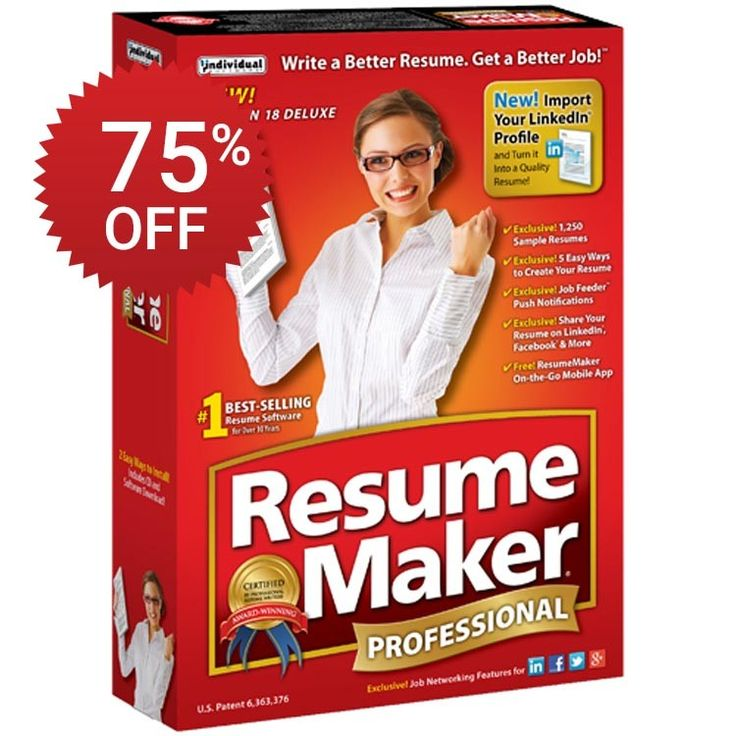 45++ Resume maker professional deluxe Examples
