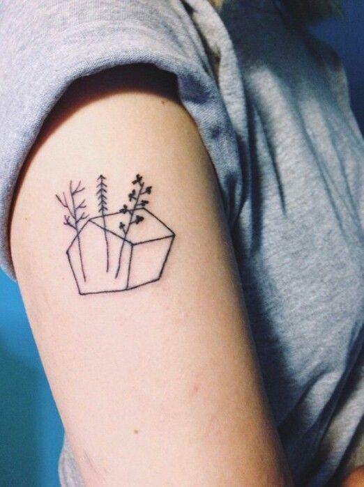 Die besten 17 bilder zu tattoos auf pinterest pfeil for Minimalist house tattoo