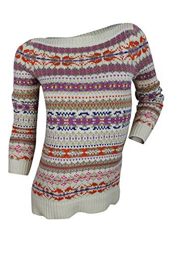 Lauren Ralph Lauren Womens Petites Wool Blend Ribbed Trim Tunic Sweater Ivory PS  Special Offer: $41.99  122 Reviews This ivory blue orange sweater byLauren Ralph Lauren is crafted in a breathable and warm cotton acrylic wool blend knit, designed with regular fit silhouette and...