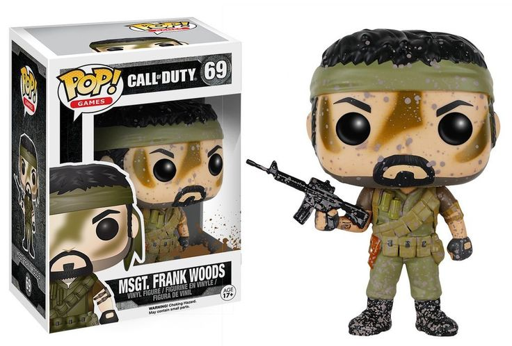 POP! Games # 69: Call Of Duty: MSGT. FRANK WOODS