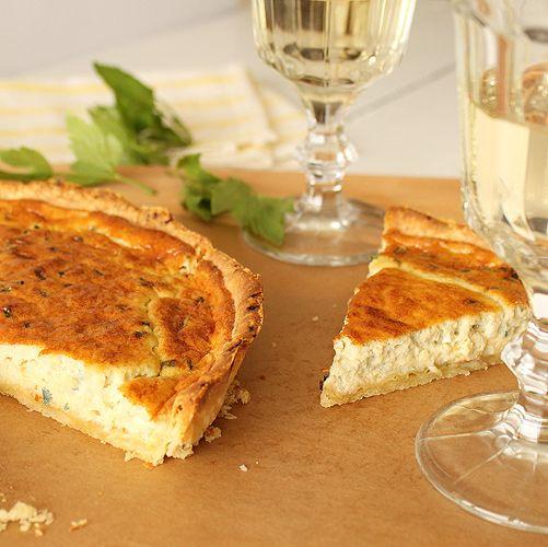 Roquefort quiche - Julia Child's recipe