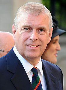 Prince Andrew, Duke of York, Andrew Albert Christian Edward, born 19 February 1960) August 2014