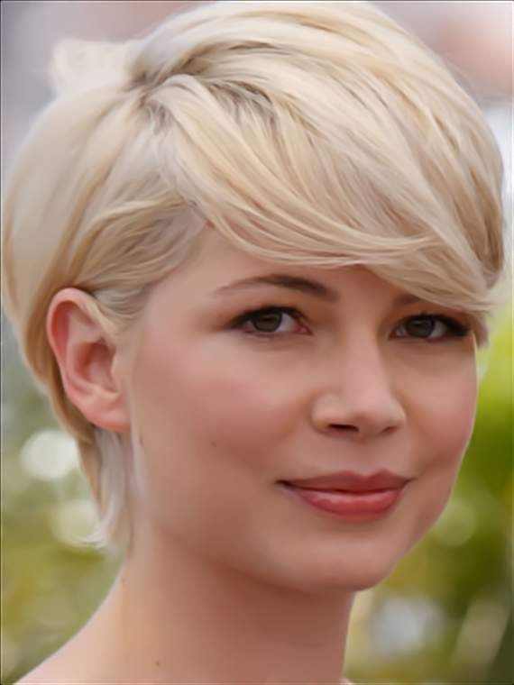 michelle williams short hair images. hair Michelle+williams+