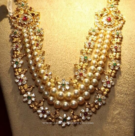 Beautiful South Indian Double Long Necklace Set: 414 Best Images About Long Necklace Collections On Pinterest