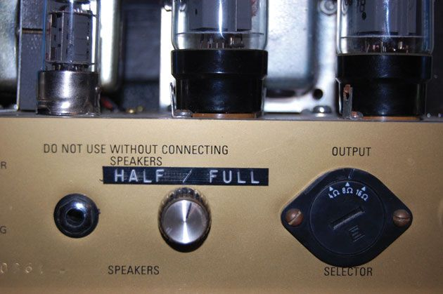 Ask Amp Man: Reduce Power with a Pentode/Triode Switch   Premier Guitar