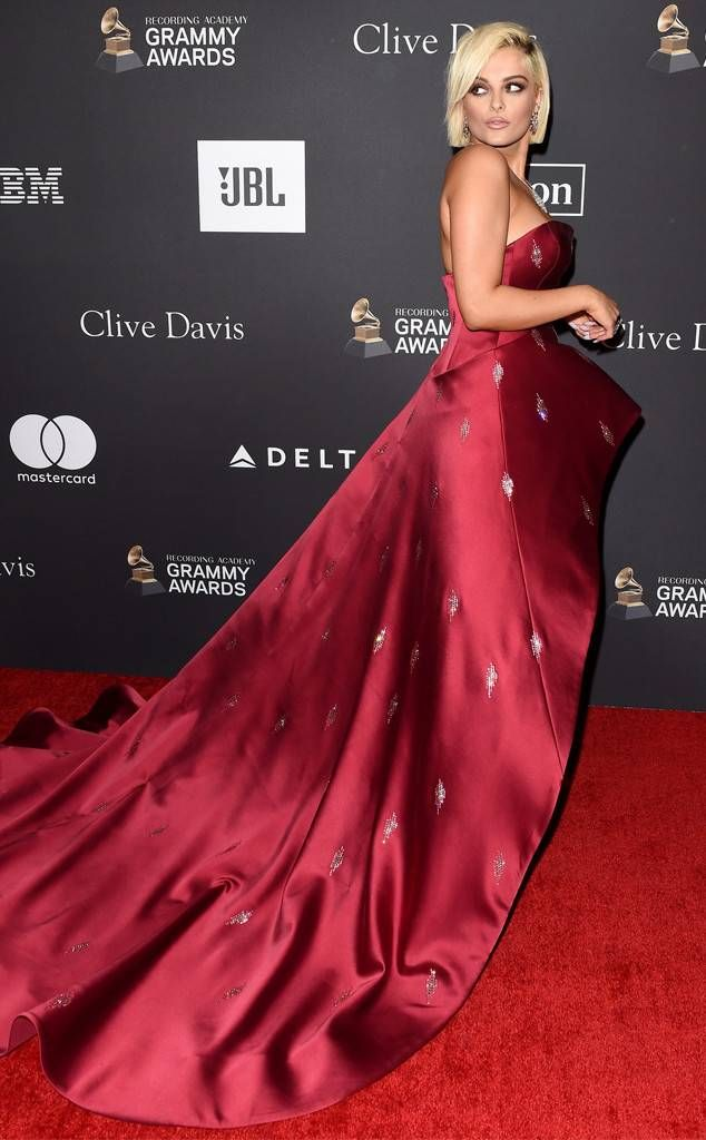 a99930dc46b Bebe Rexha from Clive Davis  Pre-Grammy Gala 2019 The