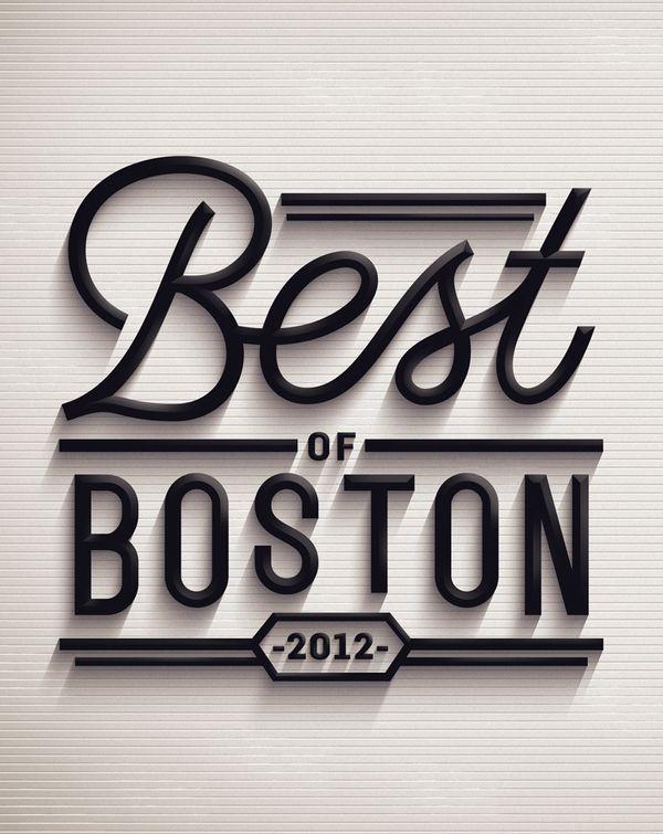 Best of Boston 2012 by Jordan Metcalf