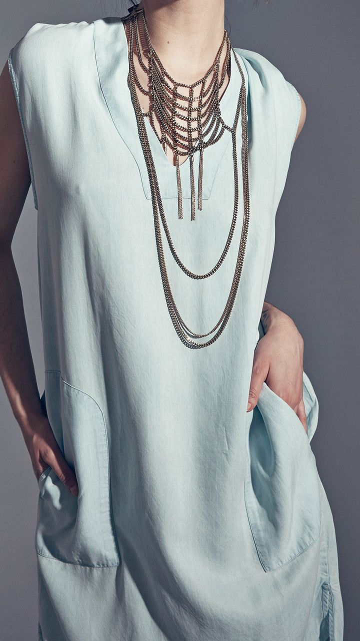 How cool is this weave necklace from Jenny Bird?!