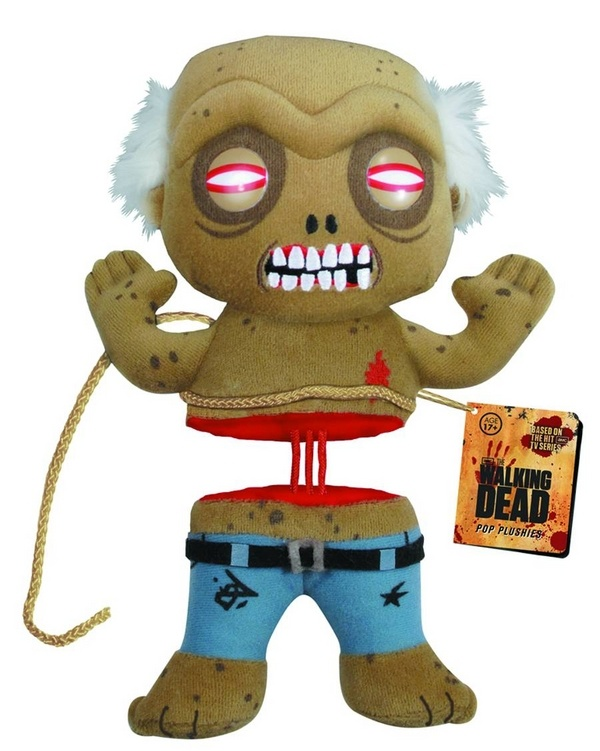 "Walking Dead Well Zombie 7"" Plush - Funko - Action Figures Toys News ToyNewsI.com"