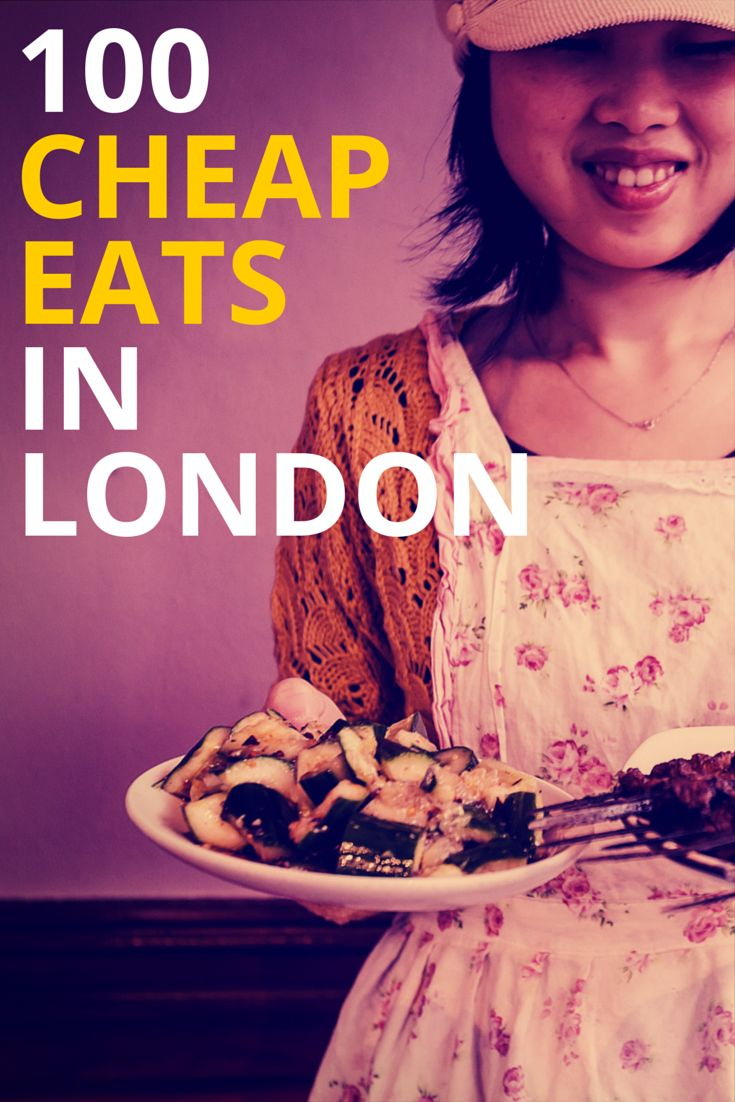 The 100 best cheap eats in London: http://timeout.com/cheapeats