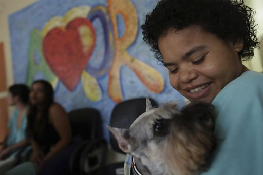 Patients at Brazilian hospital get special 'pet therapy'