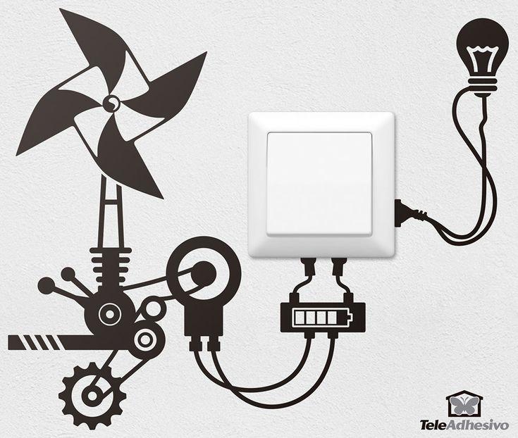12 best vinilo interruptores images on pinterest light for Vinilos para enchufes