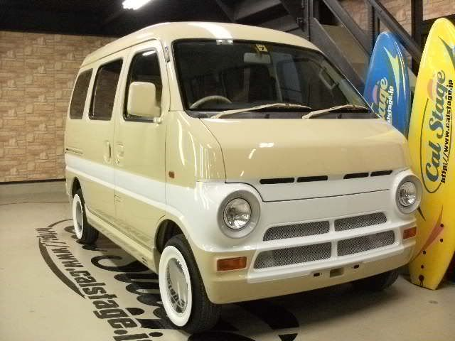 Retro Kei car van