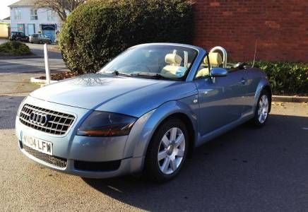Audi TT 1.8 Roadster Price - £4995 Just two lady owners from new and full stamped Audi main agent service history, right up to date! Car drives fantastically well, everything does what it should!
