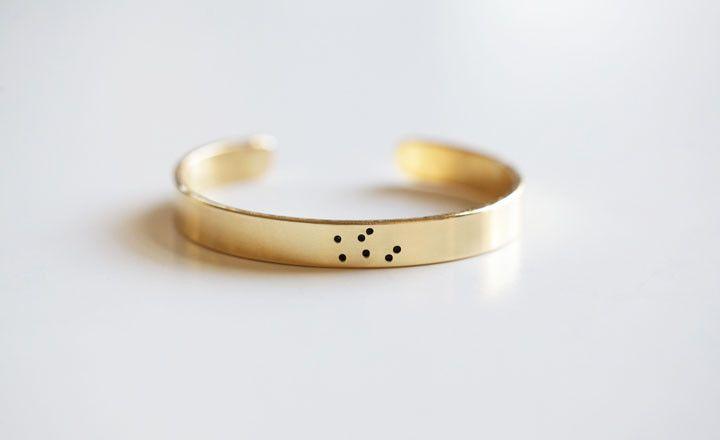 Constellation cuff.