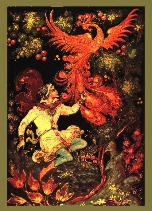 Russian firebird... love the Russian folklore