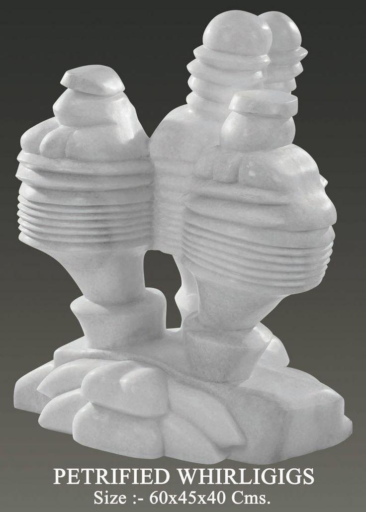 Petrified Whirligigs Marble Sculpture   Create by:-neeraj gupta size:-60x45x40 Price on Demand