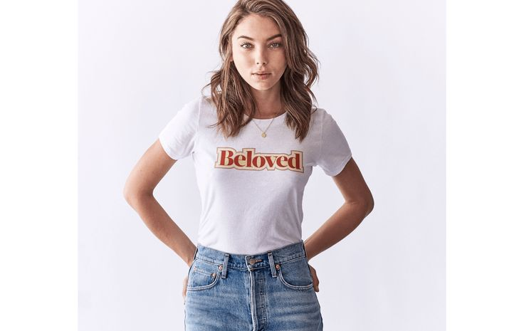 Beloved Lane Lookbook | Collection 1 | Beloved Recycled Tee. Socially conscious clothing line you can feel good about! Our t-shirts are designed and made in LA.