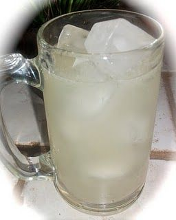 Margarita beer punch recipe.    Ingredients  (12 oz) can frozen limeade   1 cup tequila   12 oz of beer (I use Corona)   2-4 cups of cold water or lemon-lime soda, depending on how strong you want the alcohol taste to be. (I use Sierra Mist or Vault)