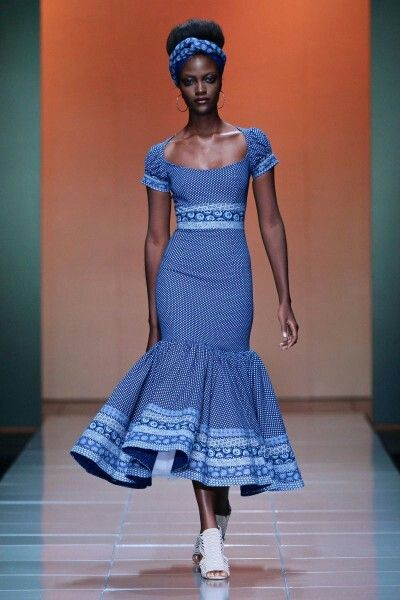 Bongiwe Walazza. South African designer.  wondering what to wear to that upcoming traditional wedding?? here's an idea