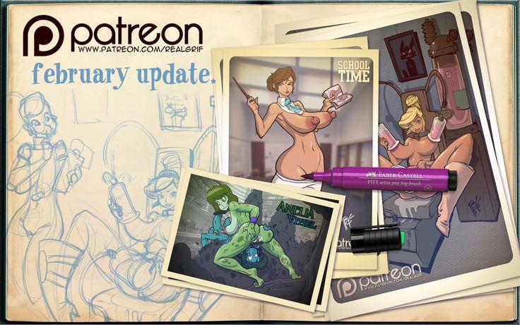 Grif is creating Girls & Rock | Patreon
