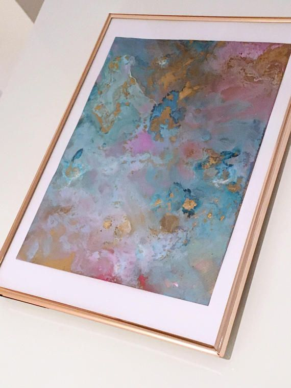 Original Abstract Painting 'Beauty Is In The Eye Of The Beholder'