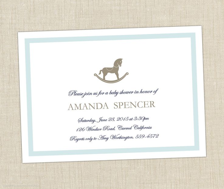 44 Best Horse Themed Baby Shower Images On Pinterest Rocking