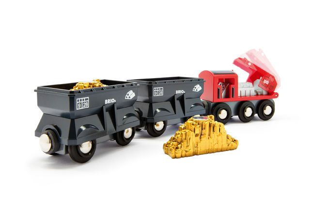 Brio Freight Gold Train.  ECA LISTING BY Made In The UK, Bexhill On Sea, United Kingdom