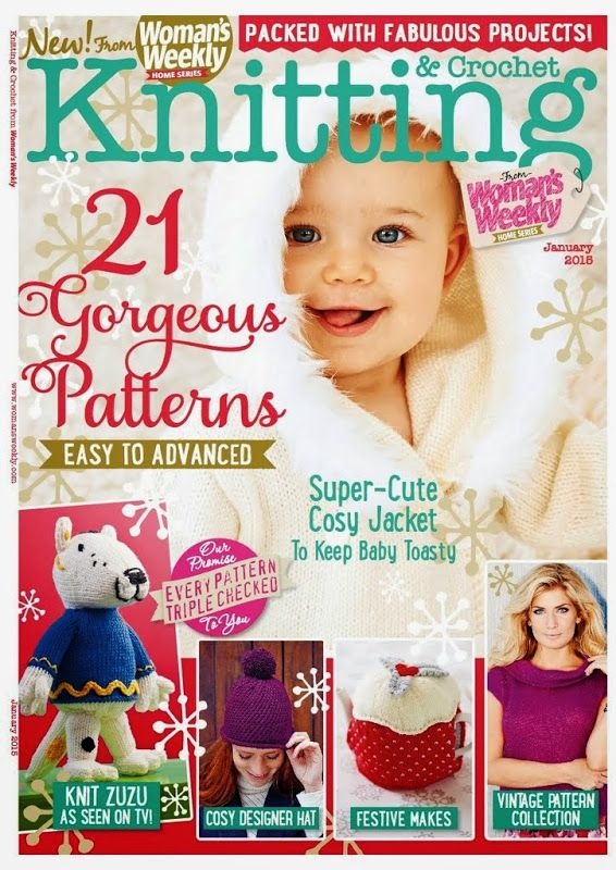 Woman's Weekly Knitting & Crochet 2015 01