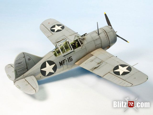 Special Hobby 1/72 Brewster Buffalo F2A-3 vmf-211Midway Defender