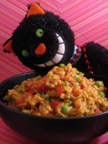how to make savoury rice with vegetables