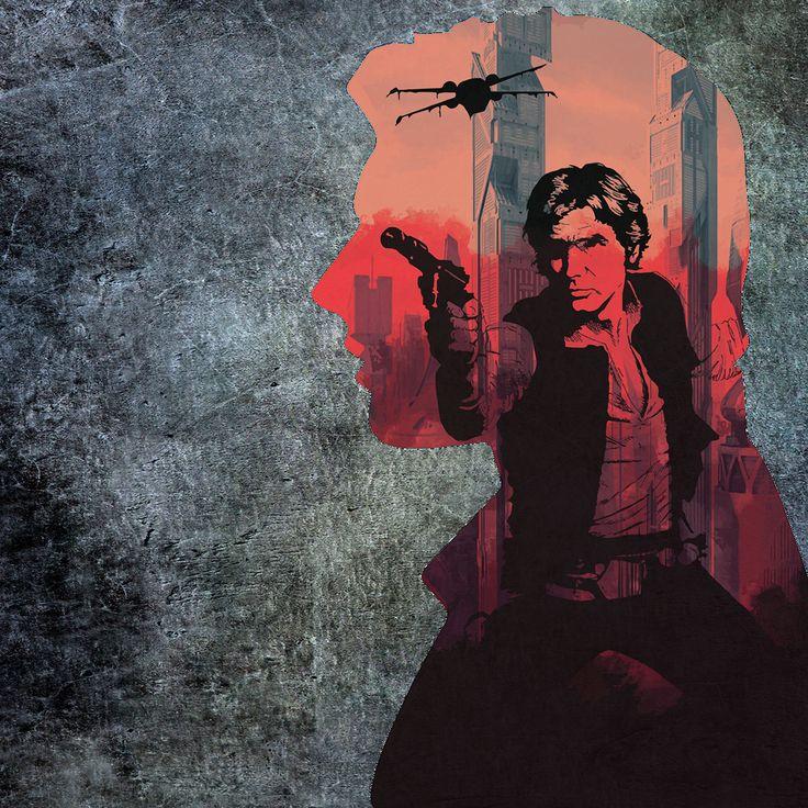 Han Solo Created by Agata Sakowicz