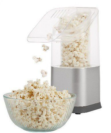 Pin for Later: 34 Perfect Gifts For the Netflix Addict in Your Life A mini popcorn machine, in case they really want to get into the movie-watching mood. West Bend Clear Popcorn Maker Machine ($35)