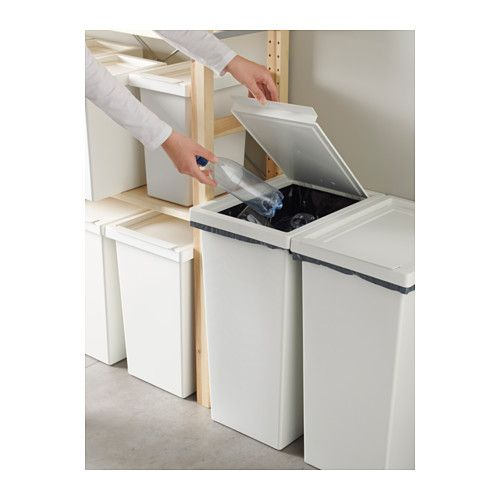FILUR Bin with lid - 11 gallon - IKEA $12.99