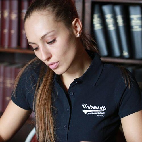 Polo Femme - Boutique Université Nice Sophia Antipolis