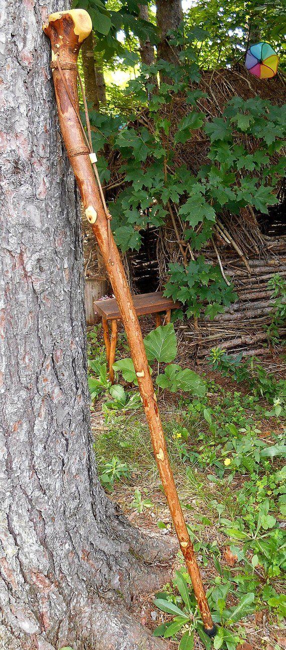 Rugged Root Walking Stick / Hiking Staff | Walking Sticks