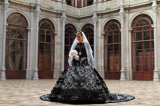 Noiva Portuguesa de Viana do Castelo. Fotografia José Coelho / Lusa