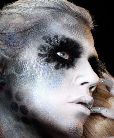 Illamasqua Art of Darkness Fall Winter 2010 Collection Androgyny Makeup