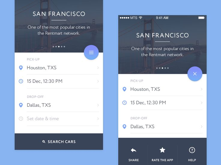 Hello Dribbble!  I'm happy to present you my debut shot. It's an iOS app i'm currently working on. Hope you'll like it!  It's nice to be a part of your family.  Please check out the real pixels:  h...
