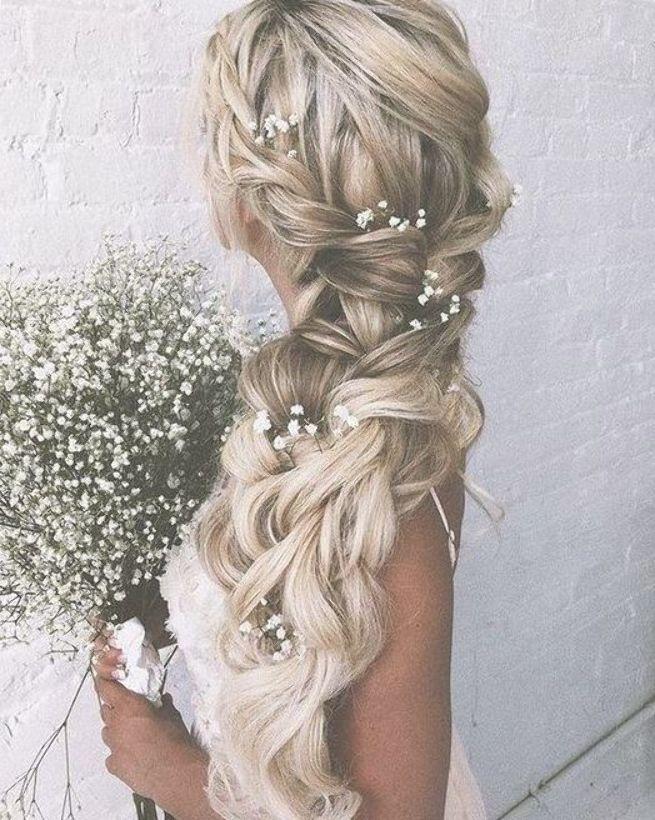 46 Unforgettable Wedding Hairstyles For Long Hair 2019 Country Backyard Wedding Wedding Hair Inspiration Braided Hairstyles For Wedding Braids For Long Hair