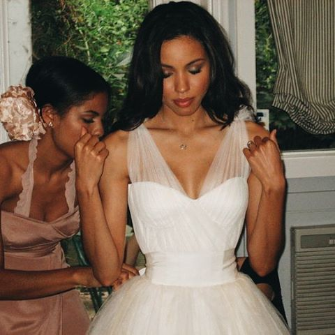 #latepost #tbt Happy birthday to my beautiful little sissy @jurneebell  I love you more than words can express. You are such a blessing. I love you and forever cherish the bond that we share. We always have each others backs and we tie each others wedding dresses ha! Party like you're turning 29!!! Woohoo!! Such a baby lol! #love #sisters #libraseason