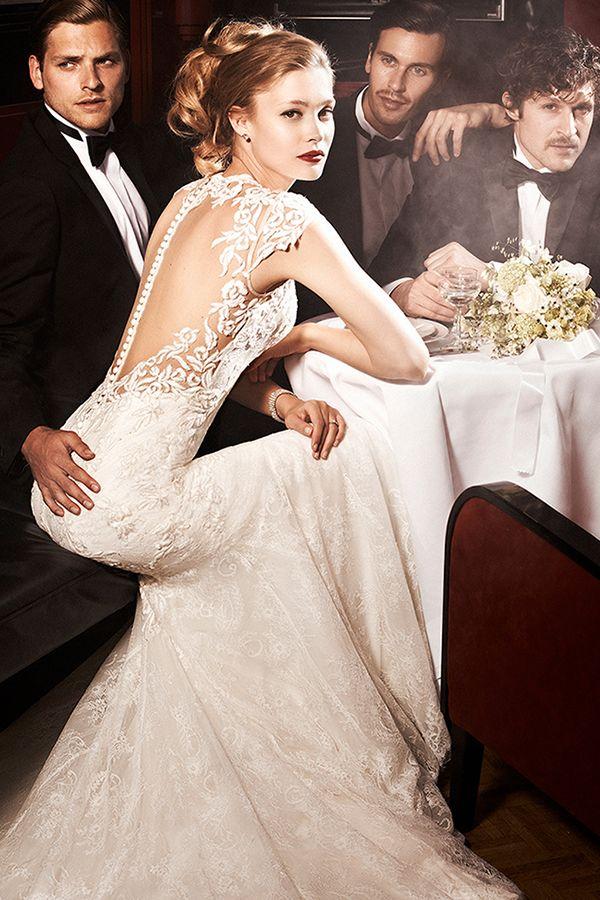 Justin Alexander Spring 2016 Embraces Old Hollywood Glamour