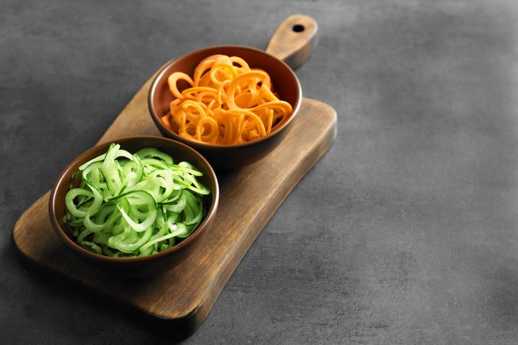 Ditch the Carbs--Spiralize!