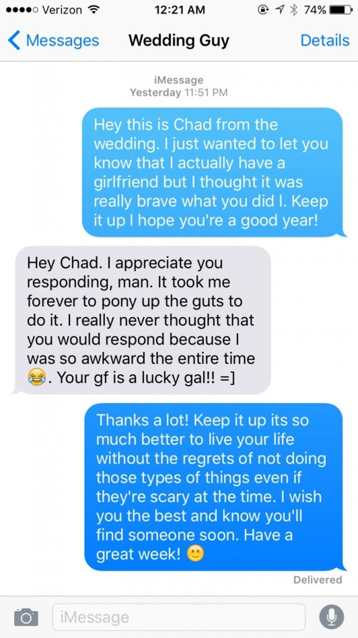A Straight Guy Had The Perfect Response To Getting Another Man's Number