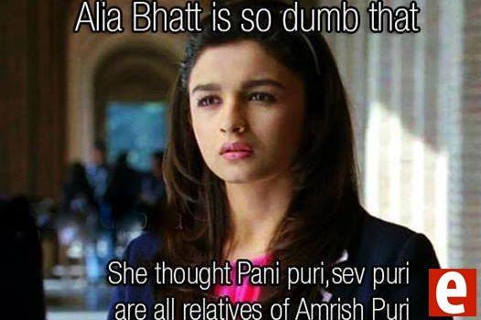 hehhehe alia bhatt IQ!!