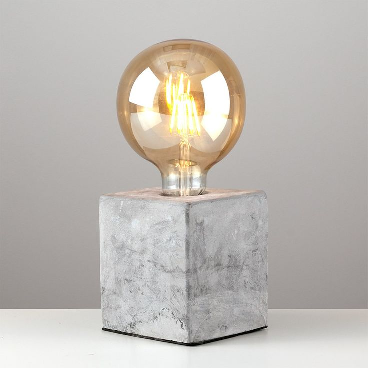 Schofield Concrete Industrial Model Desk Lamp
